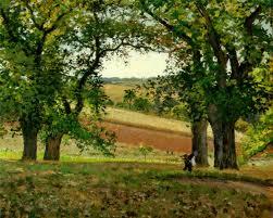 pissarro - trees