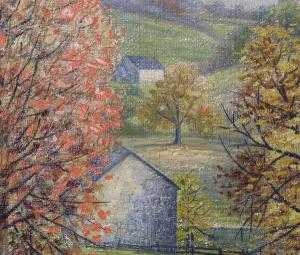 early 20th century Pennsylvania impressionism